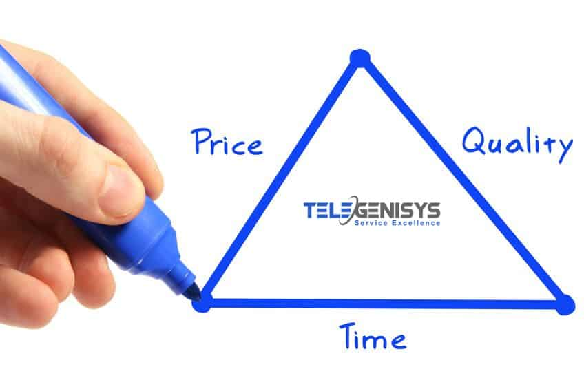 Cost, time and quality in outsourcing data entry