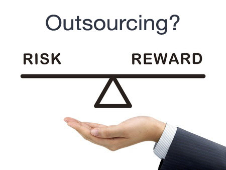 solutions on outsourcing security risk