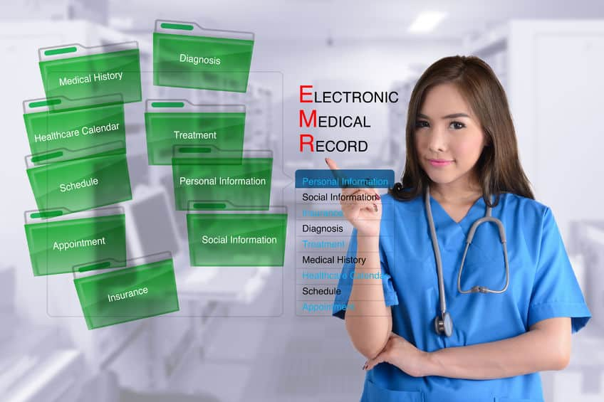 Medical record retrieval support