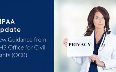 Are you aware of new guidance in HIPAA privacy rule?