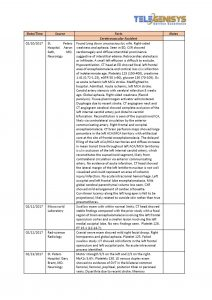 Medical Summary - Narrative Tabular View-18