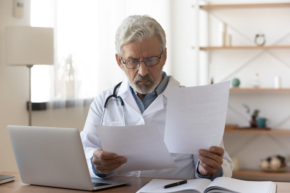 sufficiency test in medical record retrieval